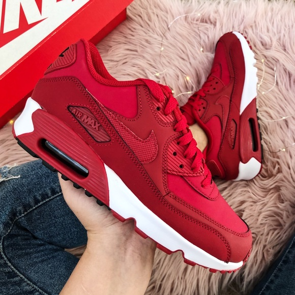 pretty nice b48dd 142ac Nike air max 90 sneakers red size 7